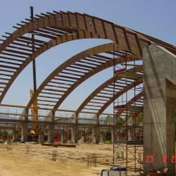 Fase di costruzione del Palazzetto - fig.4