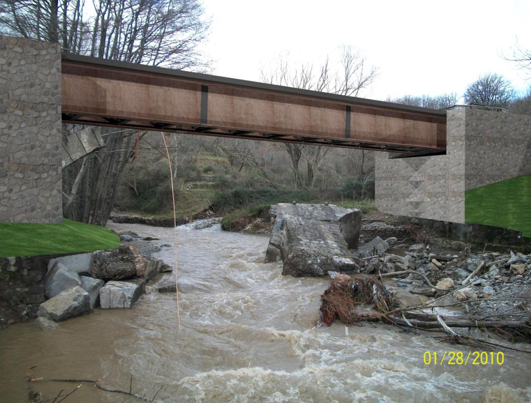 Ponte ricostruito