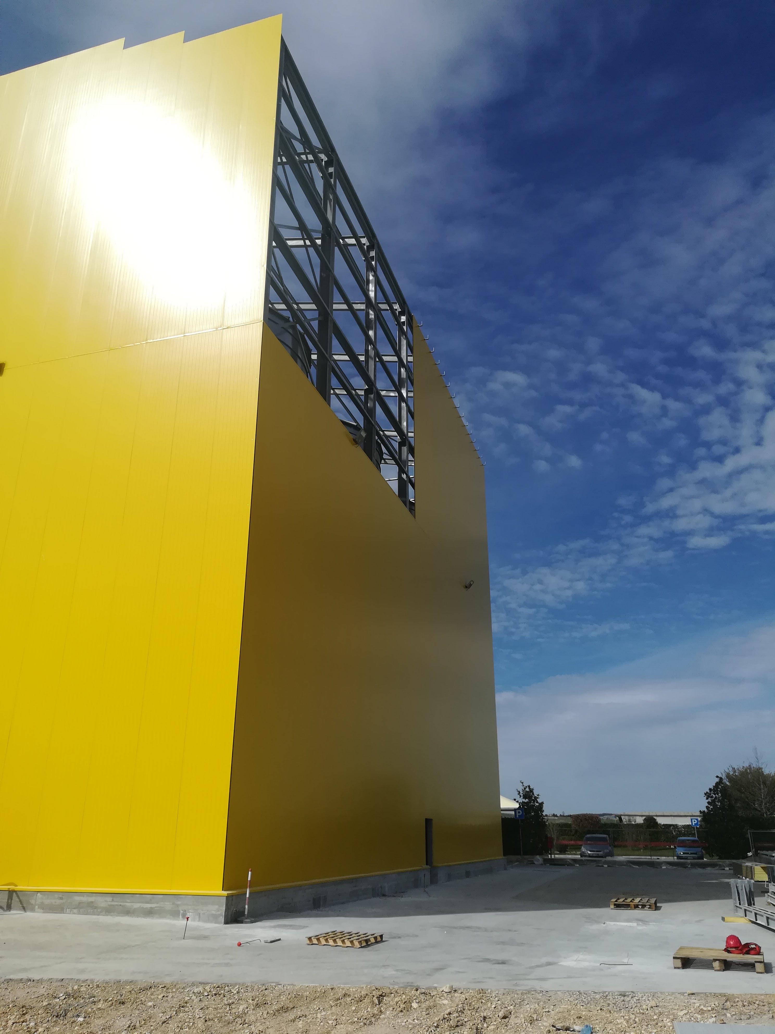 Pannellatura silos vista 2