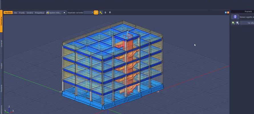 tutorial IperSpace modellazione