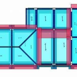 Modello strutturale - pianta