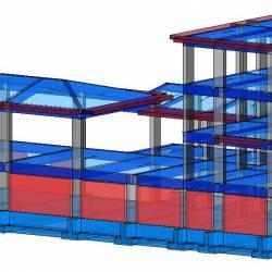Modello strutturale- vista 2