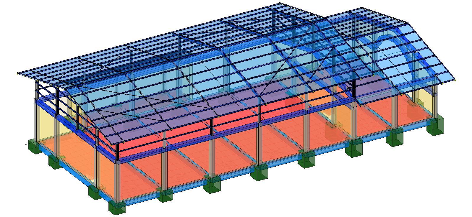 Modello strutturale - vista 2