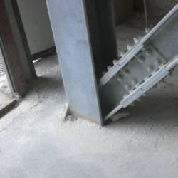 Dettagli collegamento in acciaio