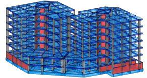 Modello strutturale – vista 2
