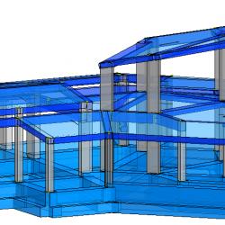 Modello strutturale IperSpace - vista 1
