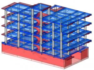 Modello strutturale IperSpace – vista 1
