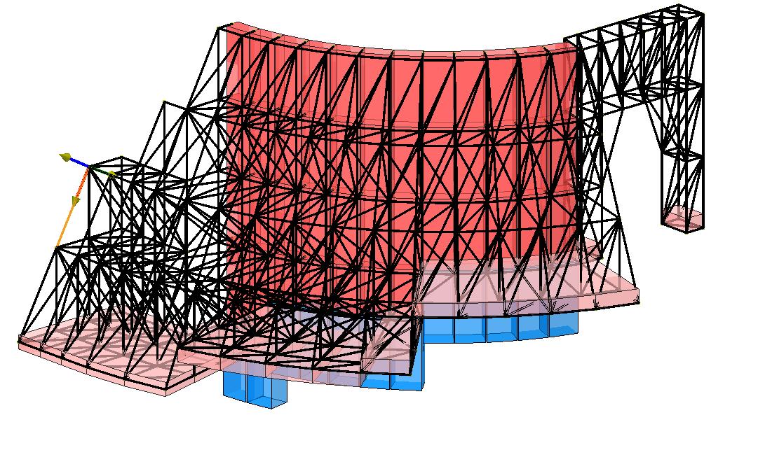 Modello strutturale 1 realizzato con IperSpace