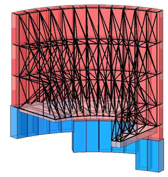 Modello strutturale 2 realizzato con IperSpace