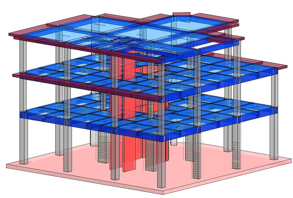 Modello strutturale IperSpace - vista 2