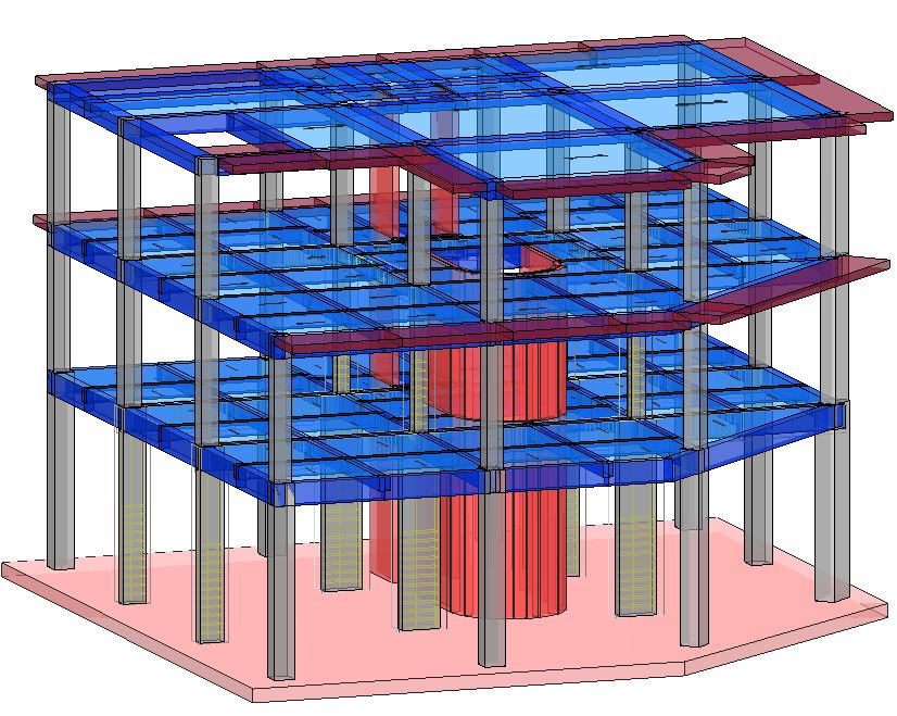Modello strutturale IperSpace - vista 3