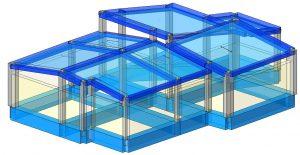 Modello strutturale IperSpace – anteriore