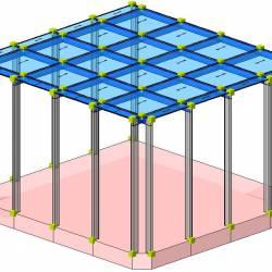 Modello strutturale serra IperSpace