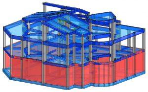 Modello strutturale IperSpace – vista 2