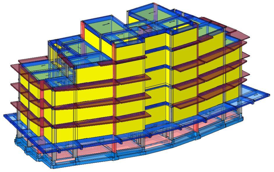 Modello strutturale con tamponature Iperspace