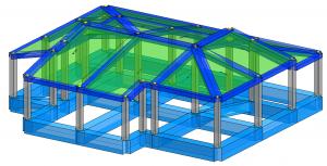 Modello strutturale IperSpace – posteriore