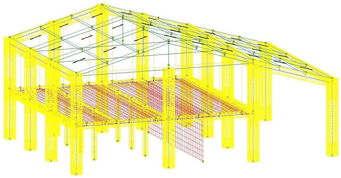 Modello strutturale IperSpace - FEM