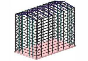 Struttura per pannellatura silos