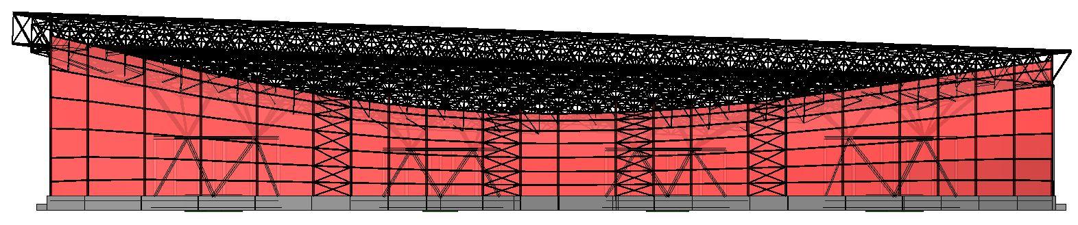 Modello strutturale IperSpace - laterale