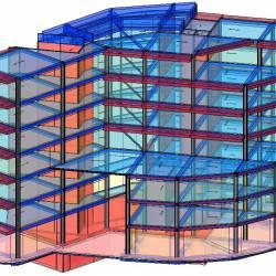 Modello strutturale IperSpace - frontale