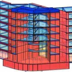 Modello strutturale IperSpace - posteriore