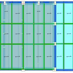 Modello strutturale IperSpace - copertura