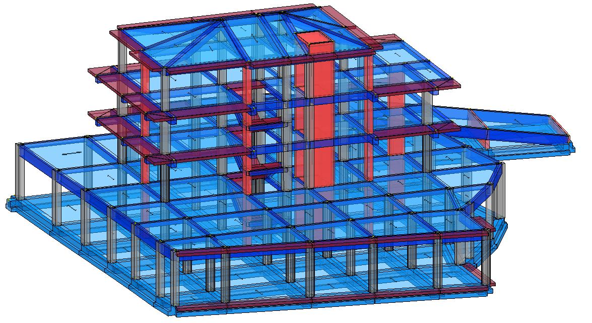 Modello strutturale IperSpace - anteriore