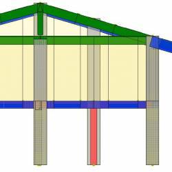 Modello strutturale IperSpace - fronte