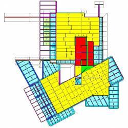 Modello strutturale IperSpace - pianta