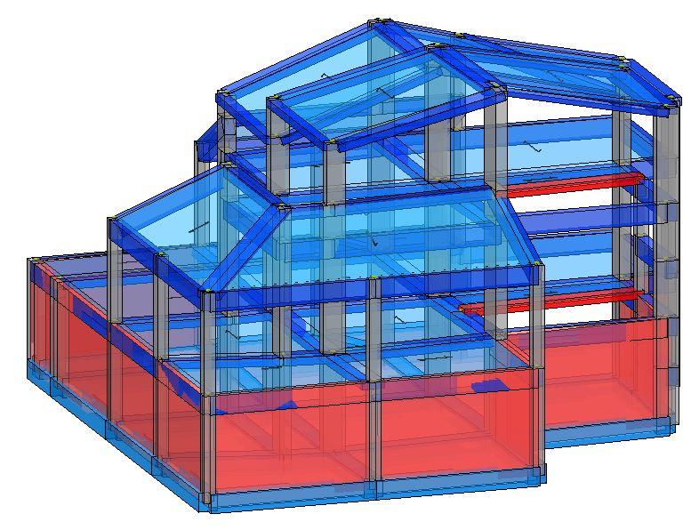 Modello strutturale IperSpace -anteriore