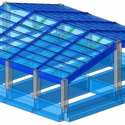 Modello strutturale IperSpace - Corpo C