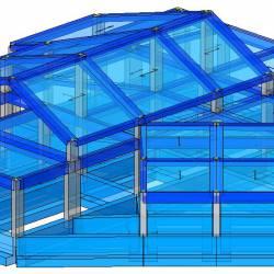 Modello strutturale IperSpace - Corpo A