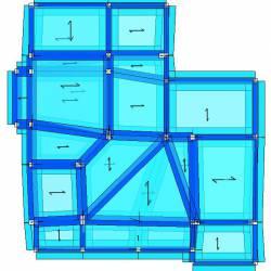 Modello strutturale edificio - alto