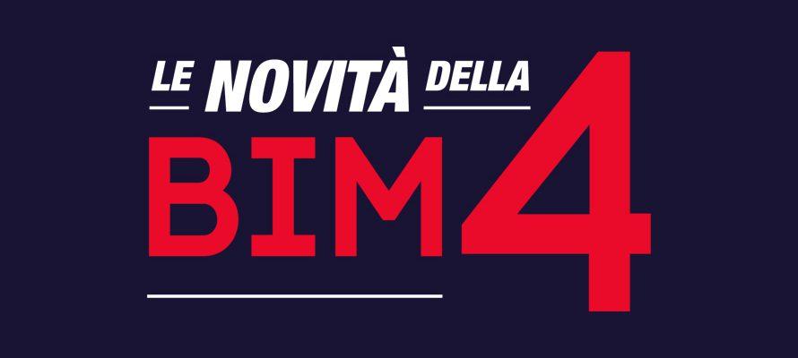 Novità BIM 4